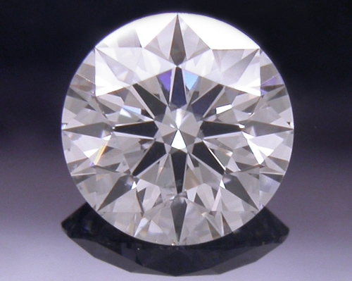 0.462 ct F SI1 A CUT ABOVE® Hearts and Arrows Super Ideal Round Cut Loose Diamond