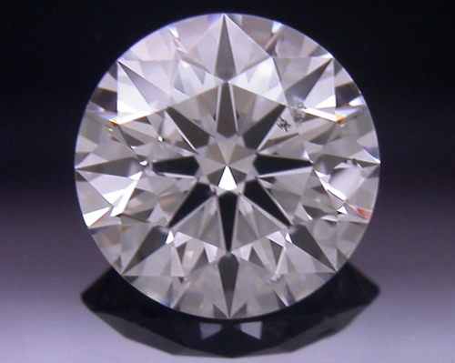 0.56 ct I SI1 A CUT ABOVE® Hearts and Arrows Super Ideal Round Cut Loose Diamond