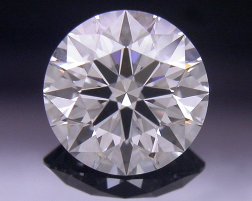 0.591 ct G SI1 A CUT ABOVE® Hearts and Arrows Super Ideal Round Cut Loose Diamond