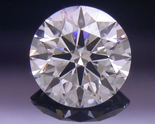 0.317 ct H SI1 A CUT ABOVE® Hearts and Arrows Super Ideal Round Cut Loose Diamond