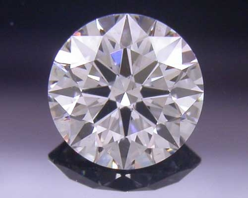 0.335 ct F SI1 A CUT ABOVE® Hearts and Arrows Super Ideal Round Cut Loose Diamond
