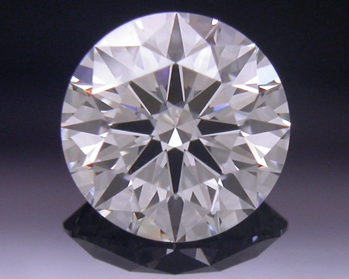 0.558 ct H SI1 A CUT ABOVE® Hearts and Arrows Super Ideal Round Cut Loose Diamond