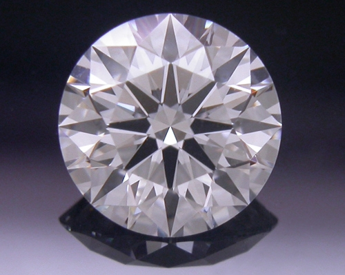 0.557 ct D VS2 A CUT ABOVE® Hearts and Arrows Super Ideal Round Cut Loose Diamond