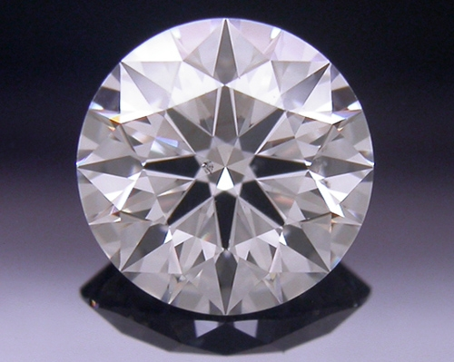 0.567 ct H SI1 A CUT ABOVE® Hearts and Arrows Super Ideal Round Cut Loose Diamond