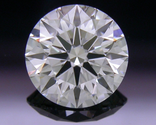 0.778 ct H SI1 A CUT ABOVE® Hearts and Arrows Super Ideal Round Cut Loose Diamond