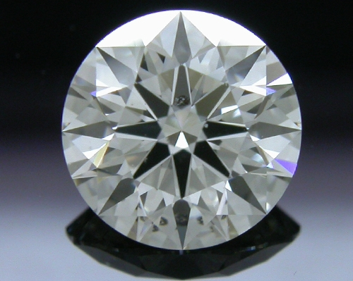 0.786 ct H SI2 A CUT ABOVE® Hearts and Arrows Super Ideal Round Cut Loose Diamond
