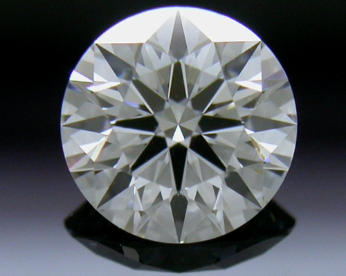 0.557 ct G VVS2 A CUT ABOVE® Hearts and Arrows Super Ideal Round Cut Loose Diamond