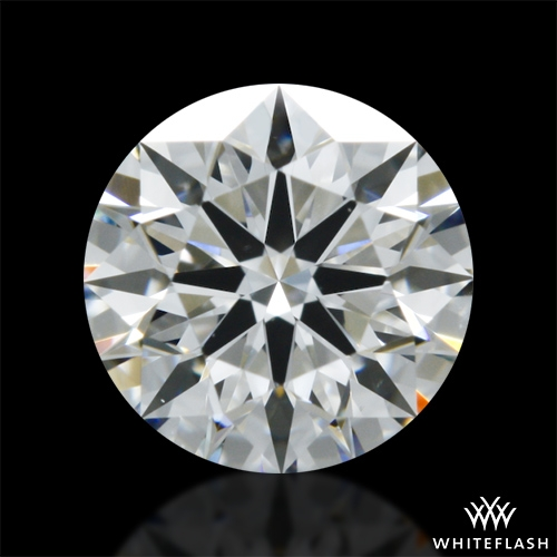 0.488 ct G VS1 A CUT ABOVE® Hearts and Arrows Super Ideal Round Cut Loose Diamond