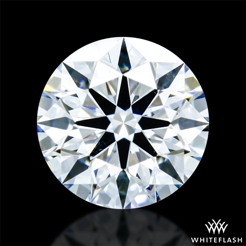 0.324 ct D SI1 A CUT ABOVE® Hearts and Arrows Super Ideal Round Cut Loose Diamond