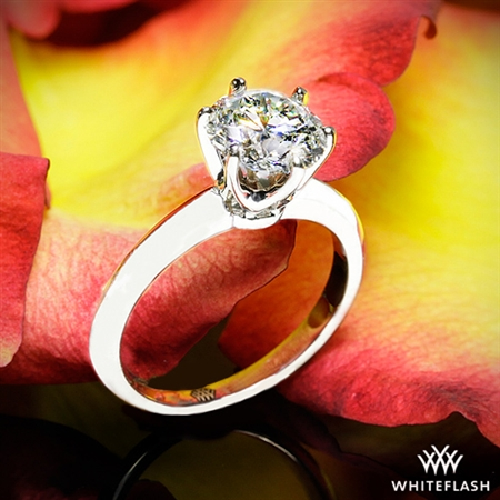 That diamond is truly remarkable and the simple setting lets it shine!