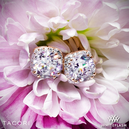 Tacori FE 643 Dantela Diamond Earrings