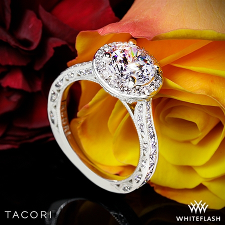 Tacori HT2650RD RoyalT Diamond Engagement Ring