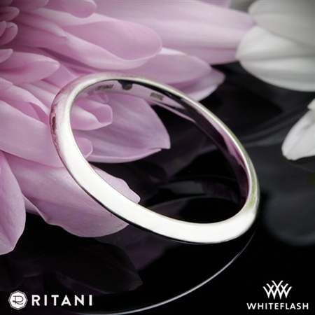 Ritani 27253 Classic Thin Knife Edge Wedding Ring