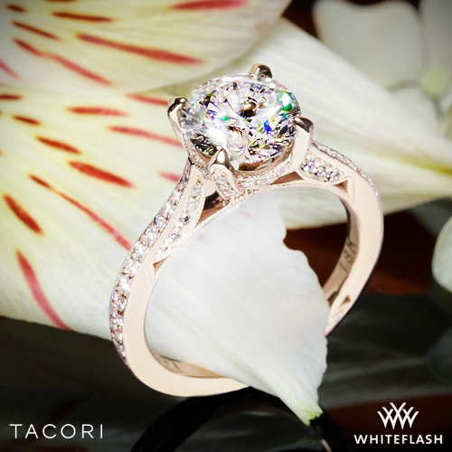 Tacori Ht2627rd Royalt Diamond Engagement Ring Whiteflash 4867