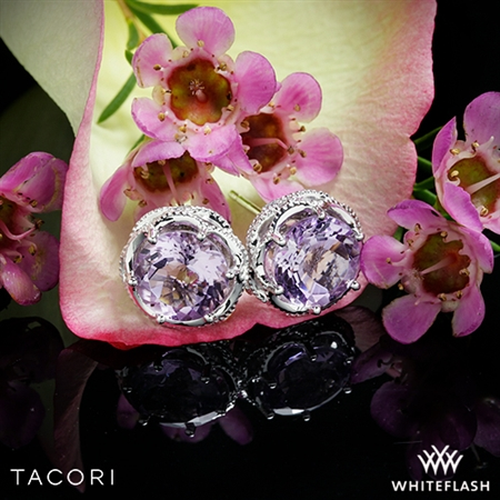 Tacori SE10513 Blushing Rose Amethyst Earrings