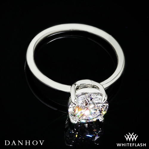 Danhov CL130 Classico Solitaire Engagement Ring - Whiteflash | 4396