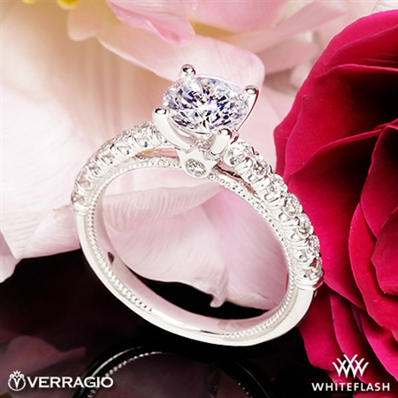 Verragio V-951-R2.0 Renaissance Diamond Engagement Ring