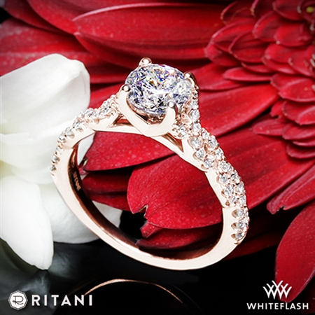 Ritani 1RZ1317 Diamond Engagement Ring