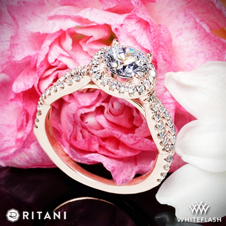 Ritani 1RZ1318 Diamond Engagement Ring
