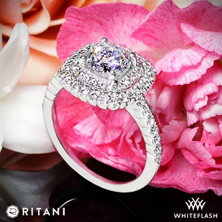 Ritani 1RZ1336 Diamond Engagement Ring