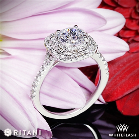Ritani 1RZ1338 Diamond Engagement Ring
