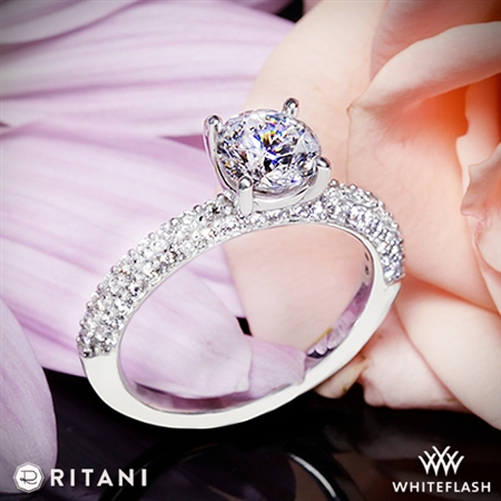 Ritani 1RZ1340 Diamond Engagement Ring