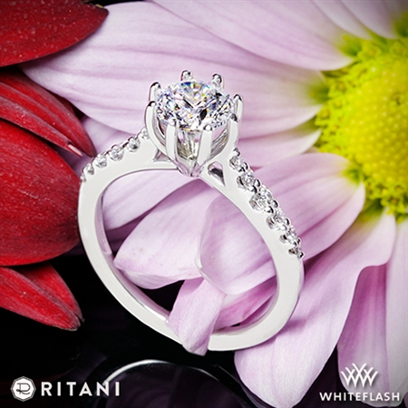 Ritani 1RZ1345 Diamond Engagement Ring