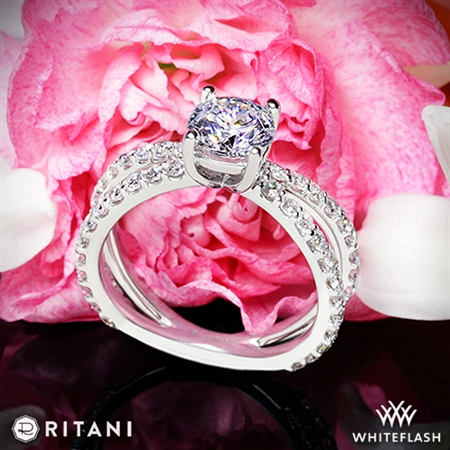 Ritani 1RZ1348 Diamond Engagement Ring