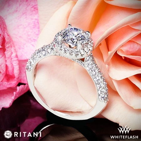Ritani 1RZ1349 Diamond Engagement Ring