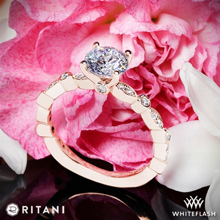 Ritani 1RZ1503 Diamond Engagement Ring
