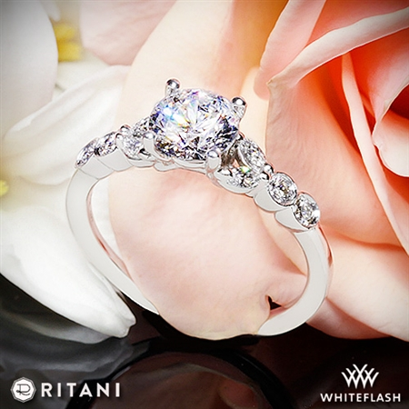 Ritani 1RZ1508 Diamond Engagement Ring