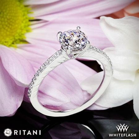 Ritani 1RZ2851 Diamond Engagement Ring