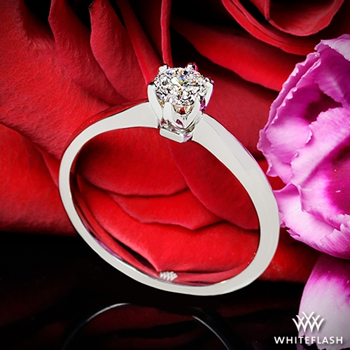 Contemporary Classic Solitaire Engagement Ring | 1415