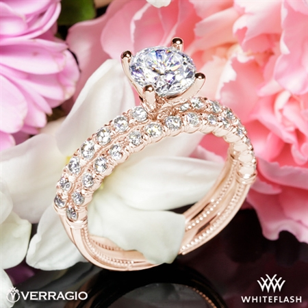 Verragio V-950 Renaissance Diamond Wedding Set