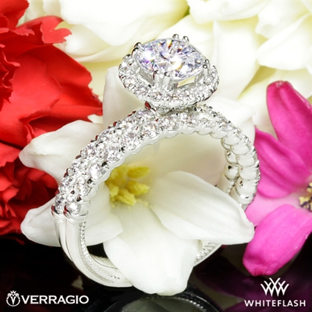 Verragio V-954 Renaissance Diamond Wedding Set