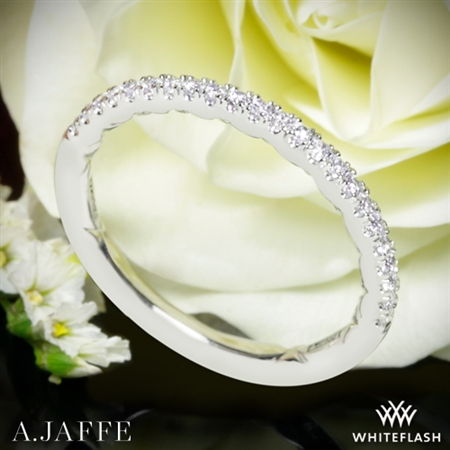 A. Jaffe MR2053Q Diamond Wedding Ring