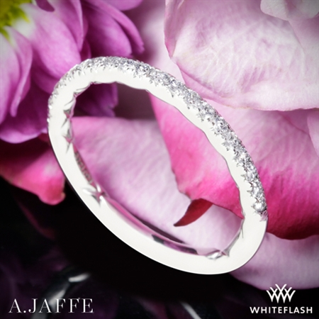A. Jaffe MR2175Q Classics Diamond Wedding Ring