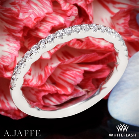 A. Jaffe MR2181Q Seasons of Love Diamond Wedding Ring