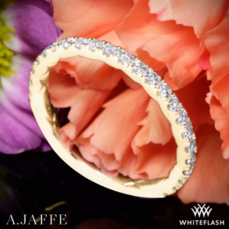 A. Jaffe MR2251Q Diamond Wedding Ring