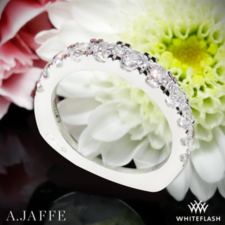 A. Jaffe MRS870 Metropolitan Diamond Wedding Ring