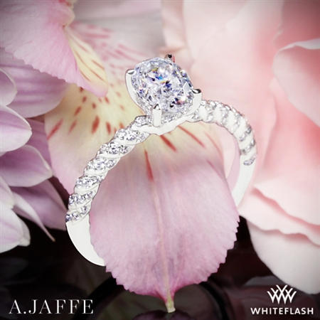 A. Jaffe MES867 Seasons of Love Diamond Engagement Ring