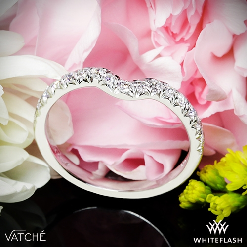 95b839fb02cfb Vatche 1054 Swan French Pave Diamond Wedding Ring | 3736