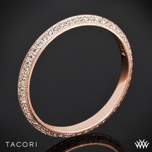 Tacori 2520ET Simply Tacori Knife-Edge Pave Diamond Wedding Ring