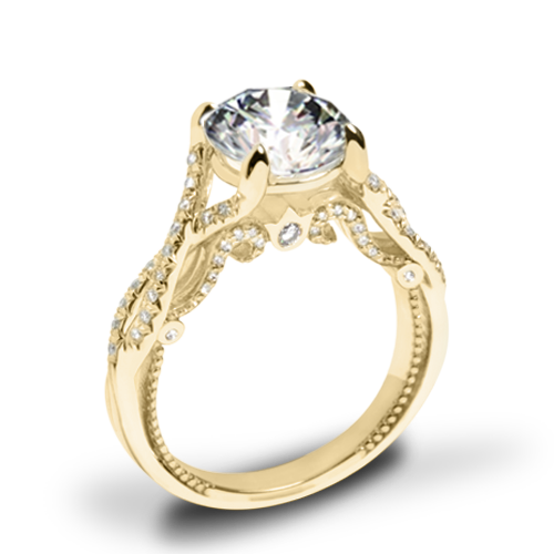 Verragio INS-7060 Intertwined Diamond Engagement Ring