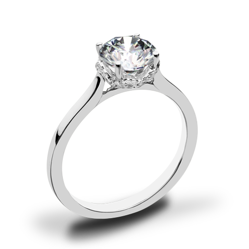 Simon G. MR2945 Solitaire Engagement Ring