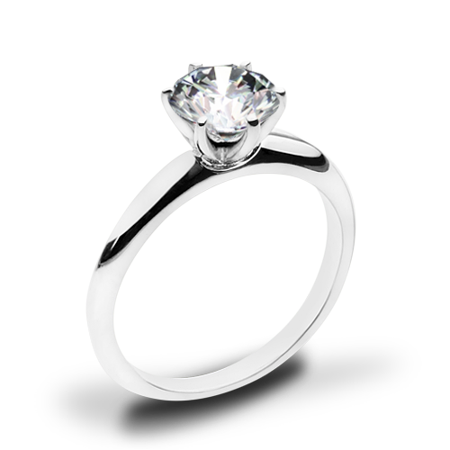 Simon G. MR2948 Solitaire Engagement Ring
