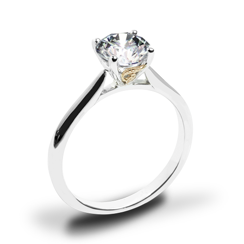 Simon G. MR2954 Solitaire Engagement Ring
