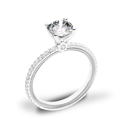 Verragio Tradition TR120R4 Diamond 4 Prong Engagement Ring