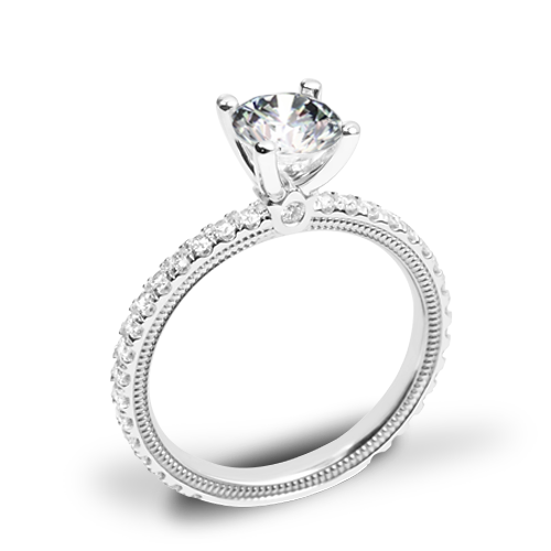 Verragio Tradition TR150R4 Diamond 4 Prong Engagement Ring