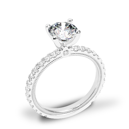 Verragio Tradition TR180R4 Diamond 4 Prong Engagement Ring